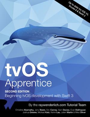 tvOS Apprentice, 2nd Edition
