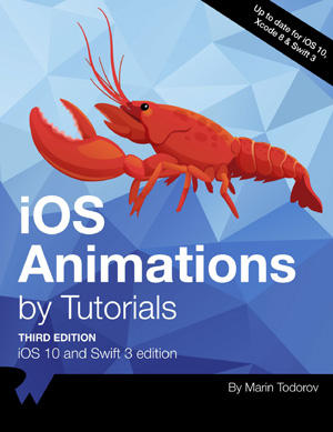 iOS Animations by Tutorials, 3rd Edition