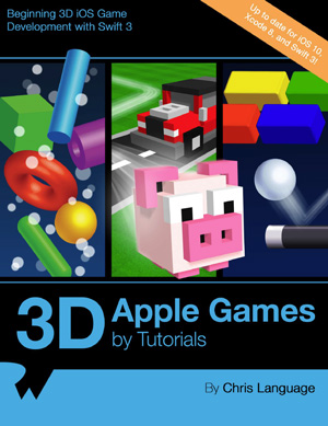 3D Apple Games by Tutorials