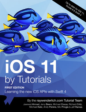 iOS 11 by Tutorials