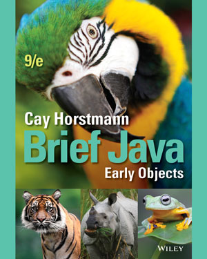 Brief Java: Early Objects, 9th Edition