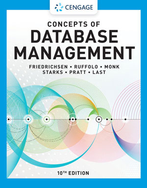 Concepts of Database Management, 10th Edition