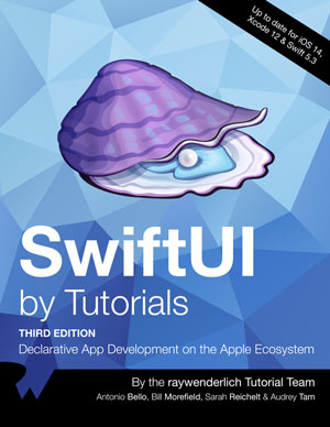 SwiftUI by Tutorials, 3rd Edition